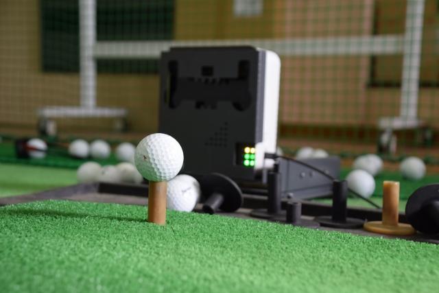 ゴルフの弾道測定器